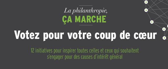 soutenez la stemm en votant: Philanthropie11
