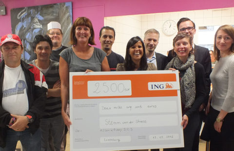 Allen & Overy supports Stëmm through the ING Marathon
