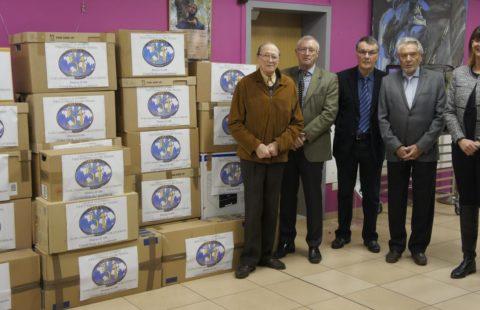 26 cartons de vêtements collectés par le Fifty One au profit de la Stëmm vun der Strooss