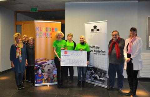 Kleiderboerse Cappellen and Dippech Hëlleft support the Stëmm with 4 000 €