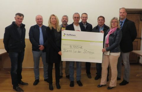 4 000 € from the municipality of Esch-sur-Sûre for Stëmm's Christmas Party