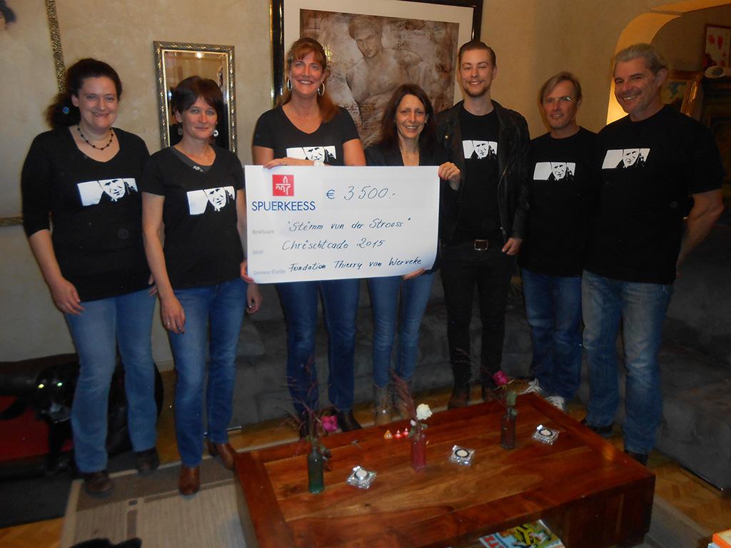 La Fondation Thierry Van Werveke va offrir des cadeaux de Noël aux personnes défavorisées