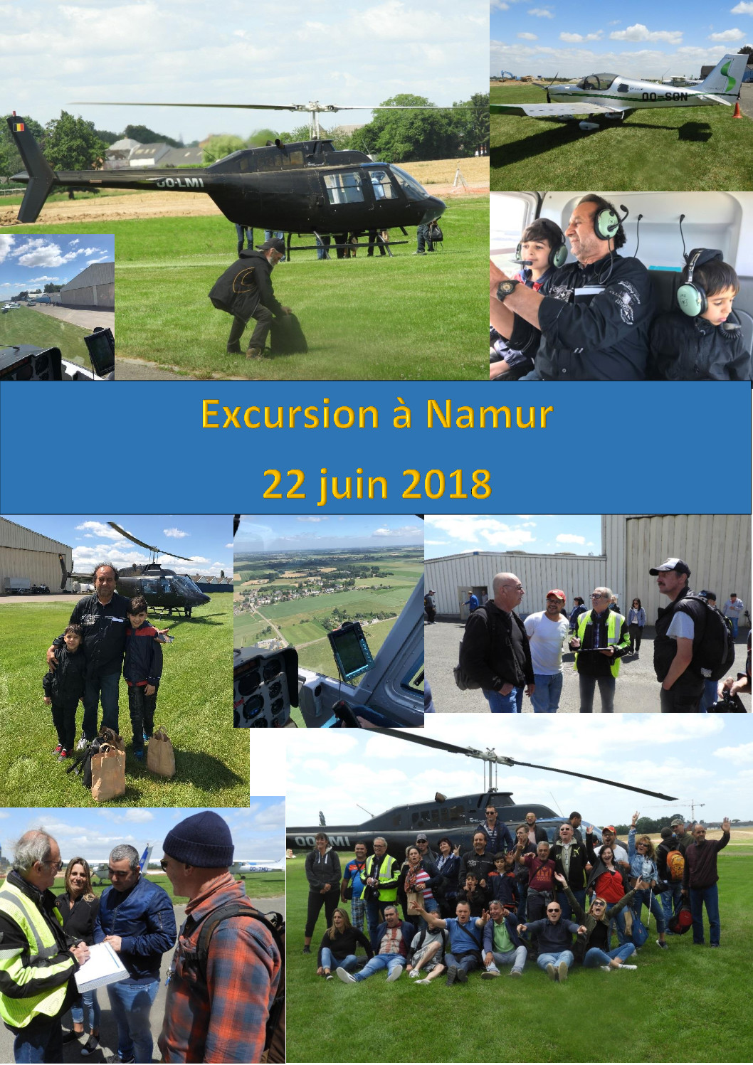 Stëmm à la découverte du ciel de Namur : «Une journée formidable et inoubliable»
