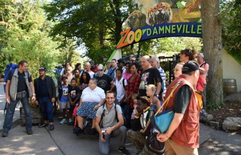 Stëmm vun der Strooss à la découverte du Zoo d'Amnéville