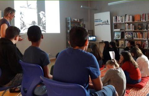 Clodo: Lesung in der Ettelbrécker Bibliothéik
