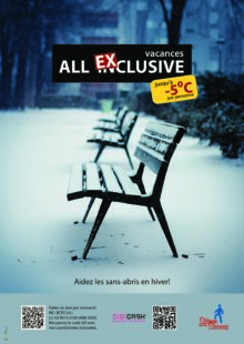 Aidez les sans-abris en hiver!