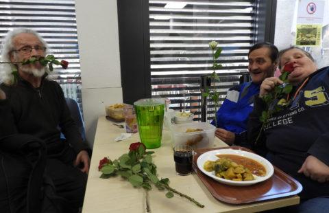 Fondation Majany und die Stëmm vun der Strooss wünschen einen fröhlichen Valentinstag