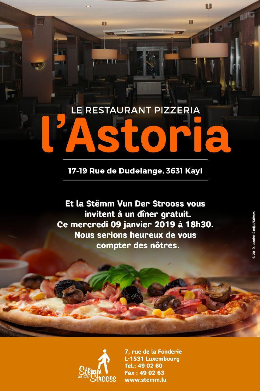 L'Astoria : Epices, Pizzas et joie