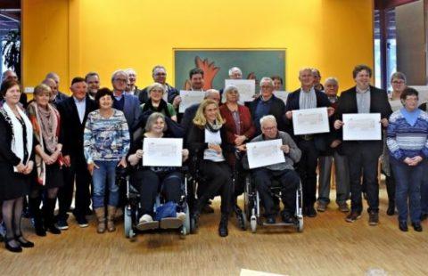 Maach eppes fir d'Emwelt asbl: 14 Schecke mat engem Gesamtwäert vu 35.000 € fir verschidden Associatiounen