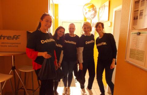 470 kits d'hygiène distribués par Deloitte dans les restaurants de la Stëmm