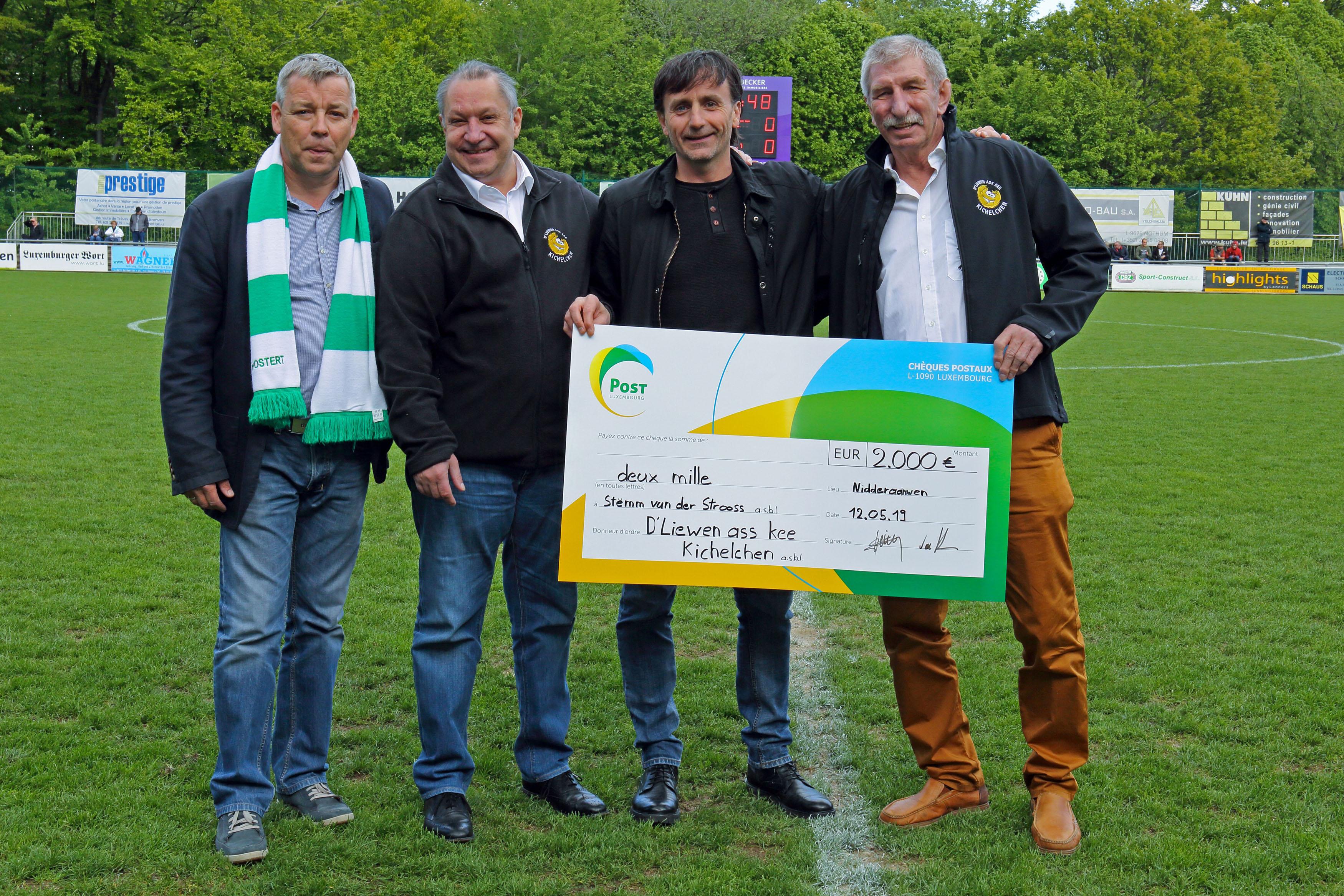 FC US Hueschtert, d'Liewen ass kee Kichelchen et Miele offrent un sèche linge à la Schwessdreps