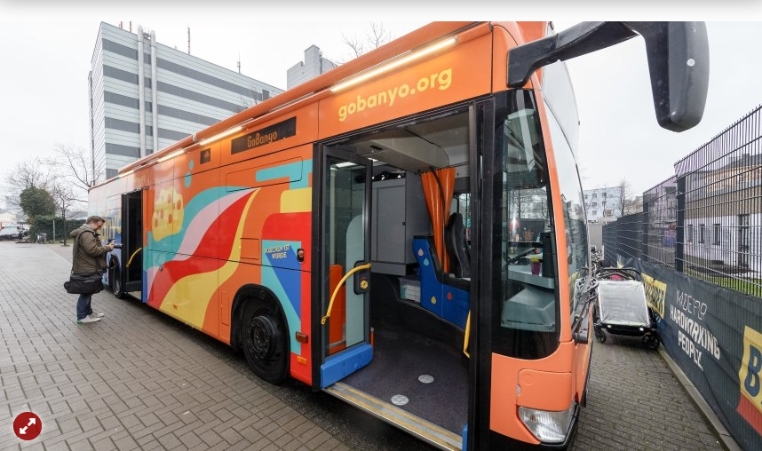 Duschbus für Obdachlose geht an den Start