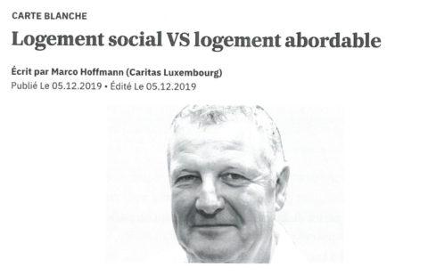 Logement social versus logement abordable