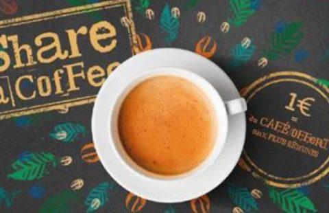 6e édition de l'opération Share a Coffee chez Exki