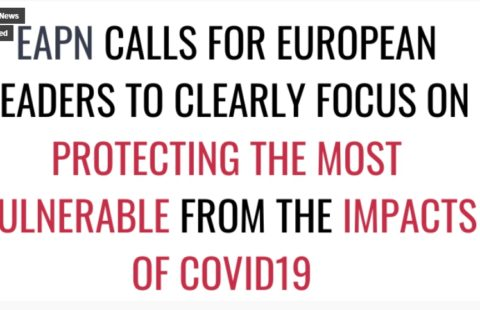 EAPN calls for Eurpean to clearly focus on protecting the most vulnerable from the impacs of Covid-19