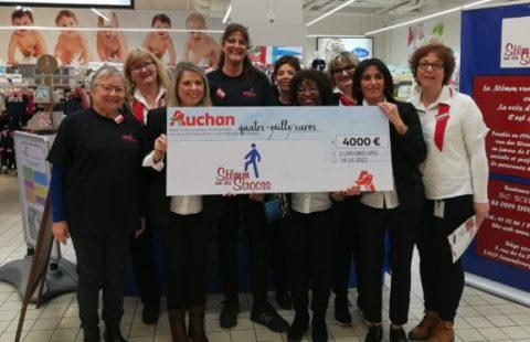 Auchan se mobilise pour les personnes défavorisées