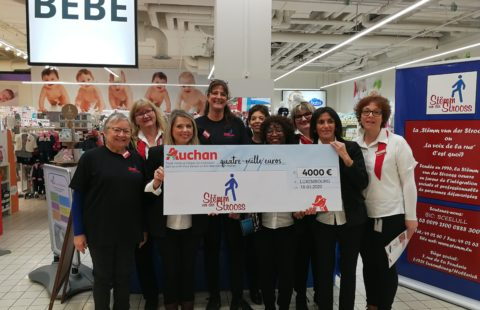 €4,000 and 5 tons of clothing thanks to Auchan