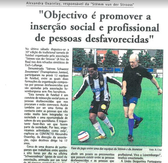 """""""Objectivo é promover a inserção social e profissional de pessoas desfavorecidas"""""""