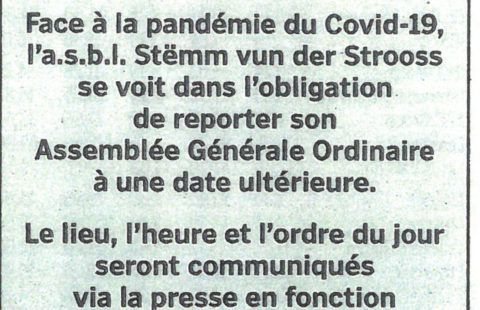 Annonce annulation