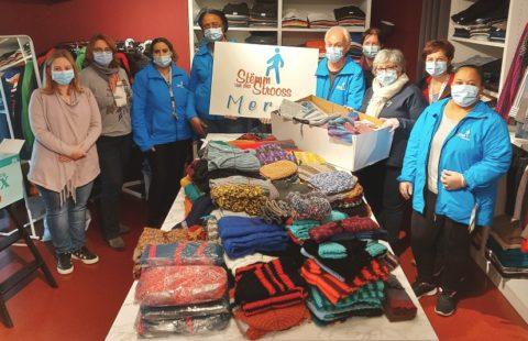 Heartwarming knitwear from the Strassen Senior Club
