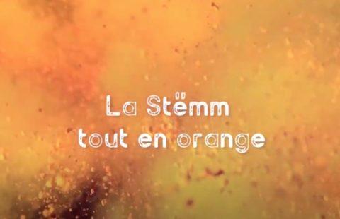 La Stëmm vun der Strooss se met à l'orange et dit non aux violences contre les femmes