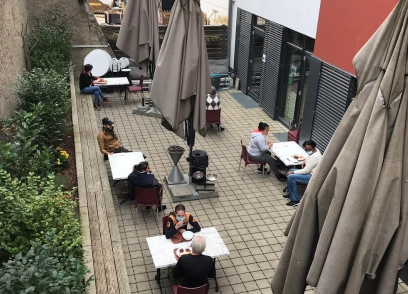 New terrace to end queues at charity restaurant