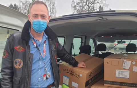 Cargolux Airlines International S.A. supports the Stëmm with €2,000 and 12,000 masks