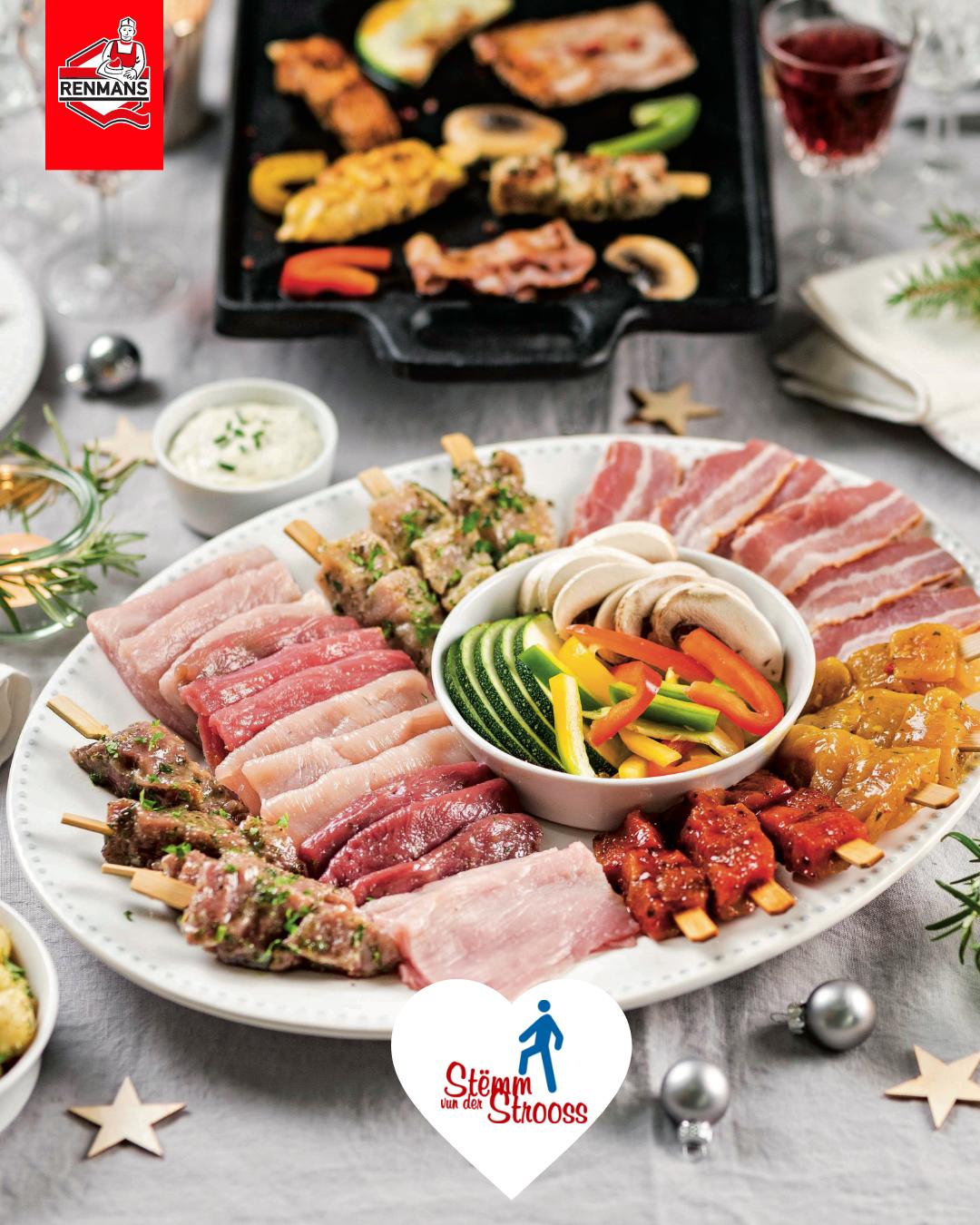 More than 4 700 meals offered by Renmans to the Stëmm vun der Strooss