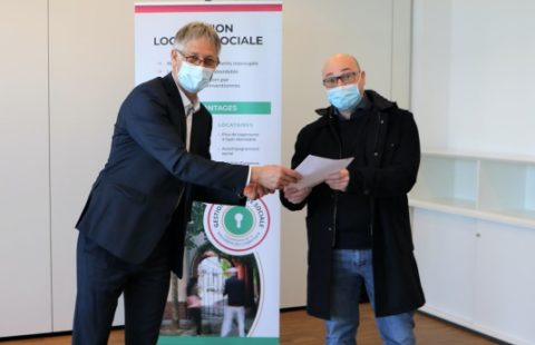 The Stëmm vun der Strooss signs a social rental management agreement in partnership with the Ministry of Housing