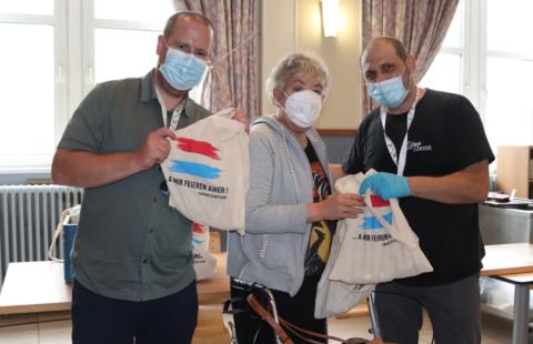 Stëmm vun der Strooss – Un élan de générosité de la part de la commune de Schifflange à l'occasion de la Fête Nationale