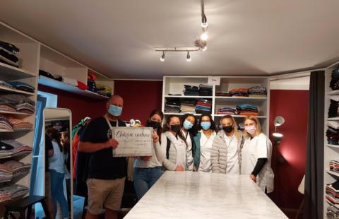 Les élèves du LTPS de Strassen se sont engagés pour soutenir la Stëmm vun der Strooss